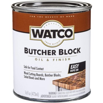 Rust-Oleum 241758 Watco Butcher Block Oil & Finish  ~ Pint