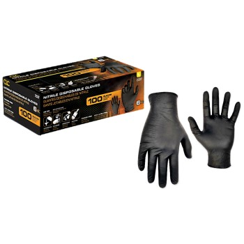 CLC 2337L Nitrile Gloves, Non-Powdered ~ Large