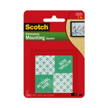 Mounting Squares - 1 Inch