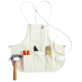 12 Pocket Canvas Bib Apron