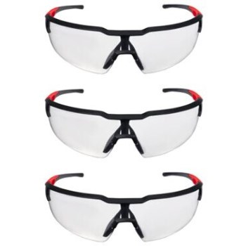 3pk Clear Glasses