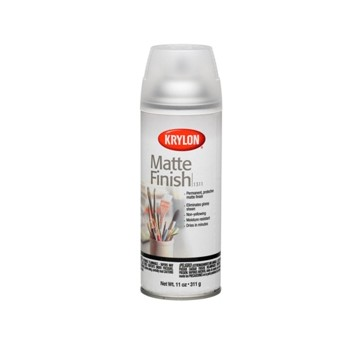 Graphic Arts Clear Matte Satin Finish ~ 11 oz Spray Cans