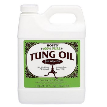 Tung Oil, 100% Pure ~  One Quart
