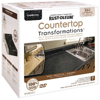 Rust-Oleum 258285 Countertop Transformations Kit,  Charcoal ~ 50 Sq Ft