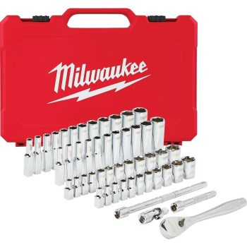 50pc 1/4 Socket Set