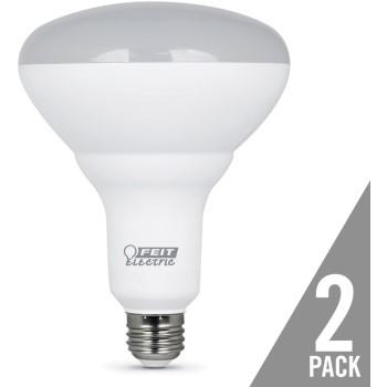 Feit Electric 75 Watt Reflector Flood Light Bulb 2 PACK