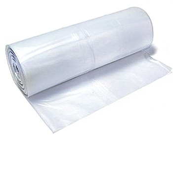 Polyethylene Sheeting, Clear  ~ 16 x 100 Ft x 6 mil