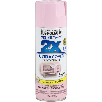Rust-Oleum 249119 Spray Paint, Gloss Candy Pink 2x