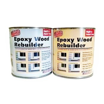HF Staples  00405 Epoxy Wood Rebuilder ~ Mixes to One Gallon