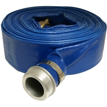 Flat Discharge Hose ~50'