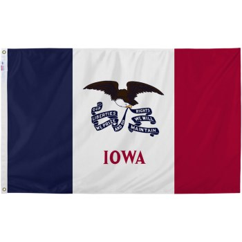 3ft. X5ft. Iowa Flag