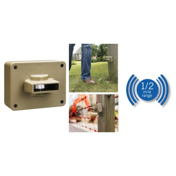 Weatherproof Outdoor/Driveway Wireless Motion Alarm and Alert System Add-On SensorWireless Motion Alert Sensor