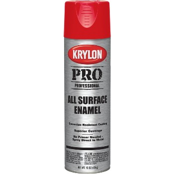 Spray PRO Enamel ~ Gloss Safety Red