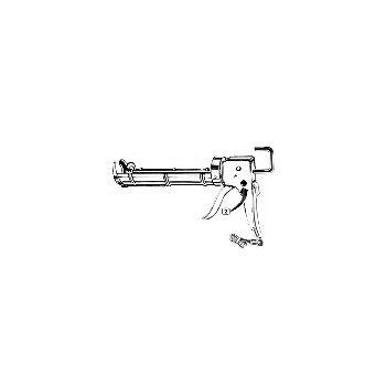 Newborn 301 .1g Hexrod Pro Caulk Gun