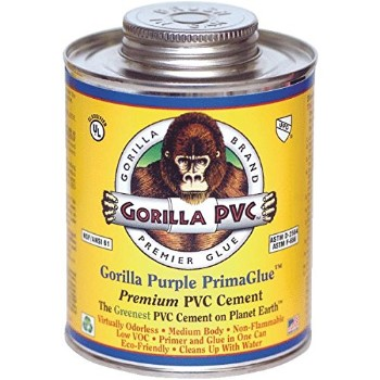 Purple PVC PrimaGlue Primer/Cement ~ 8 oz