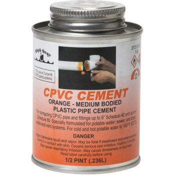 8 Oz Org Cpvc Cement