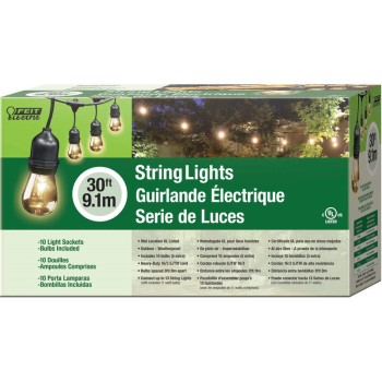 Decorator Indoor/Outdoor LED String Lights ~ 30 Ft