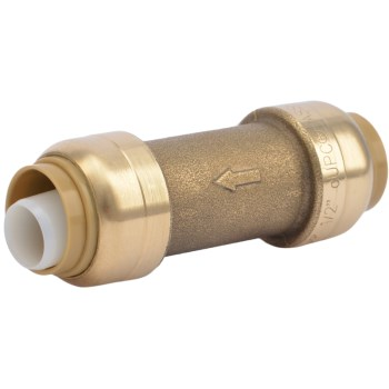 "SharkBite Check Valve ~ 1/2"" x 1/2"""