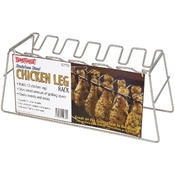 Bayou Classics 0770 Chicken Leg Rack