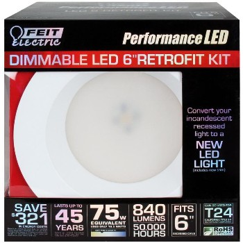 LED Dimmable Retrofit Kit 6 inch