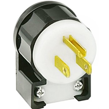 Grounded Angle Plug ~ 15 Amp