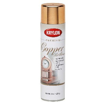 Metallic Spray Paint, Copper Brilliance ~ 8 oz