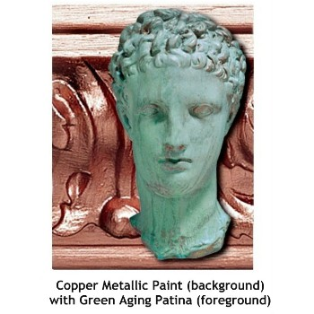 Copper Reactive Metallic Paint ~ 16 oz
