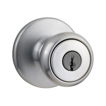 Kwikset 94002-560 Tylo Entry Lockset with SmartKey ~ Satin Chrome