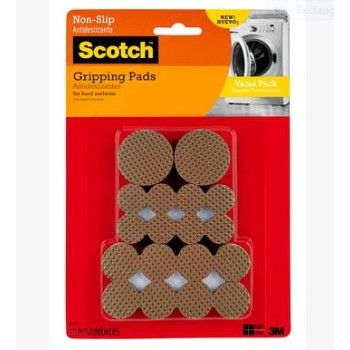 3M SP941 Gripping Pads, 36pk ~ 1.5in.