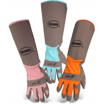 Garden Gloves, Long Sleeve ~ Women's Small