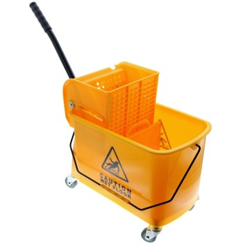 Bucket With Wringer, 24 Quart
