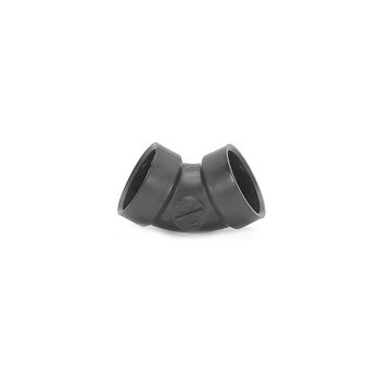60 Degree Elbow, ABS / DWV 1 1/2 inch