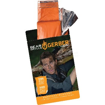 Bear Grylls Survival Blanket, 96 in X 30 in