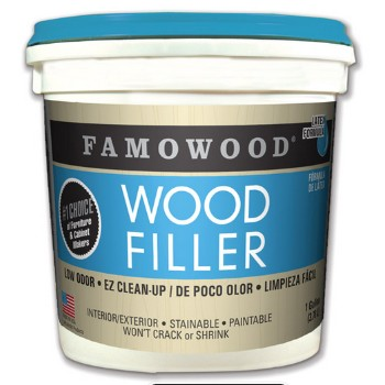 Wood Filler, Natural, 1/4 Pint