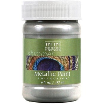 Metallic Paint, Silver 6 Ounce