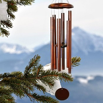 "Windchime, 44"" Corinthian Bells Series ~ Copper"