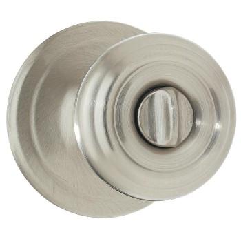 Kwikset 97300-834 Privacy Lockset, Cameron Desgin  ~ Satin Nickel