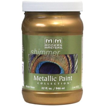 Metallic Paint, Brass 32 Ounce