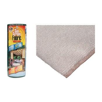 Easy Gardener Prod   72020 Shade Fabric, Saddle Tan  ~ 6 Ft x 20 Ft