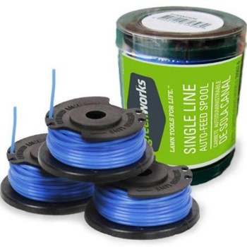 Replacement Spool and Line - 3 pack