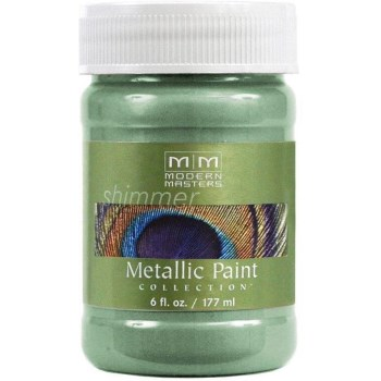 Metallic Paint, Teal 6 Ounce