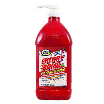 Amrep/zep Zucbhc48 Zep Cherry Bomb Gel Hand Cleaner ~ 48 Oz
