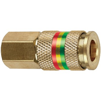Combo Coupler, Female ~ 1/4""