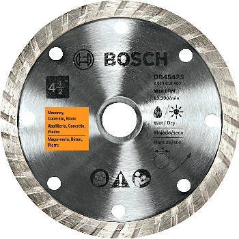 Abrasive Blade,  Turbo Rim Style - Diamond ~ 4.5""