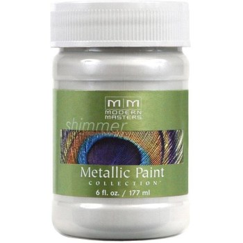 Metallic Paint, Snowflake 6 Ounce