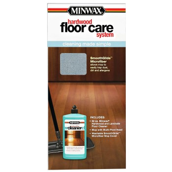 Hardwood Floor Care System Kit