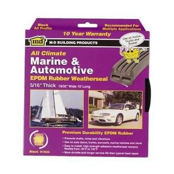M-D Bldg Prods 01033 Watherstrip - Auto & Marine 10 ft