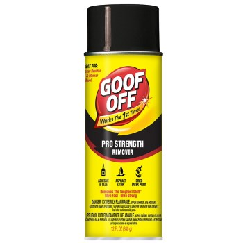Goof Off Pro Strength Remover ~ 12 oz Aerosol