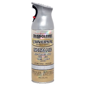 Universal Spray Paint, Titanium Silver~ 11oz