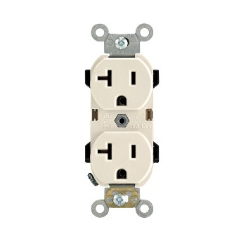 Decora Grounded Duplex Recetacle ~ Light Almond